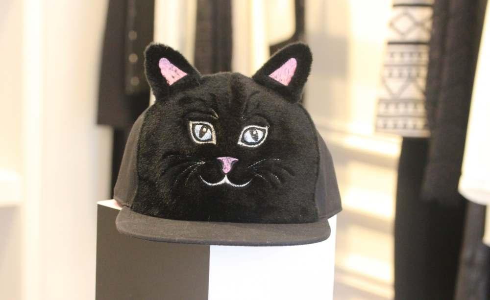 vivetta claudie pierlot cat hat baseball cap cat ears kitty face designer fashion blogger