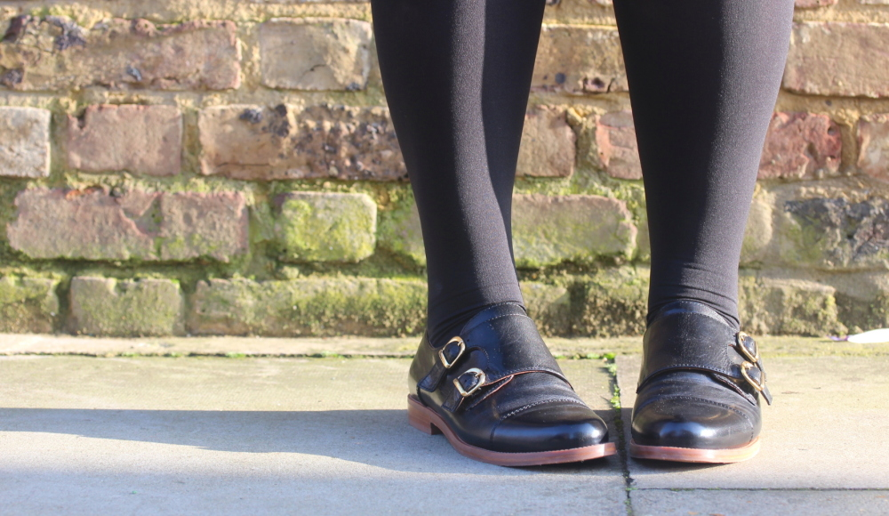 russell and bromley monk strap shoes fashion blogger uk