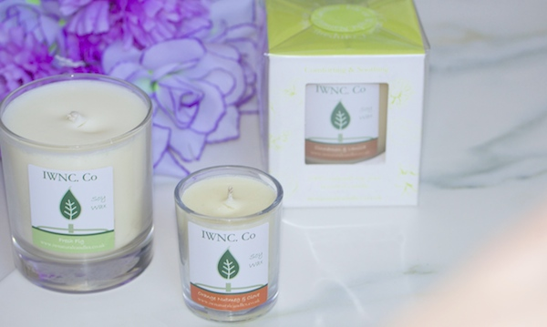 iw natural candle co. review beauty blog london soy candle benefits