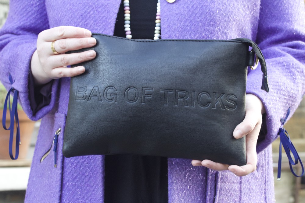 boohoo bag of tricks halloween luella bartley coat fashion blogger style wordpress uk london personal style fashion ootd london recommended