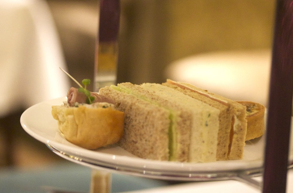 lancaster london hotel afternoon tea sandwiches