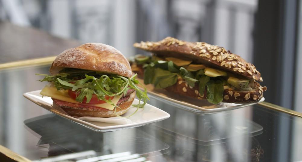 workshop fitzrovia coffee bar artisan sandwiches sourdough bread sandwich