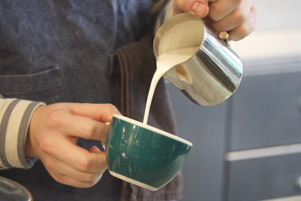 workshop fitzrovia coffee bar latte