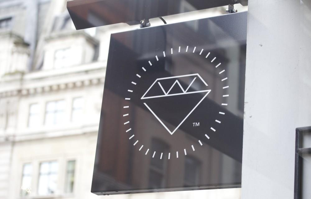 workshop fitzrovia coffee bar sign