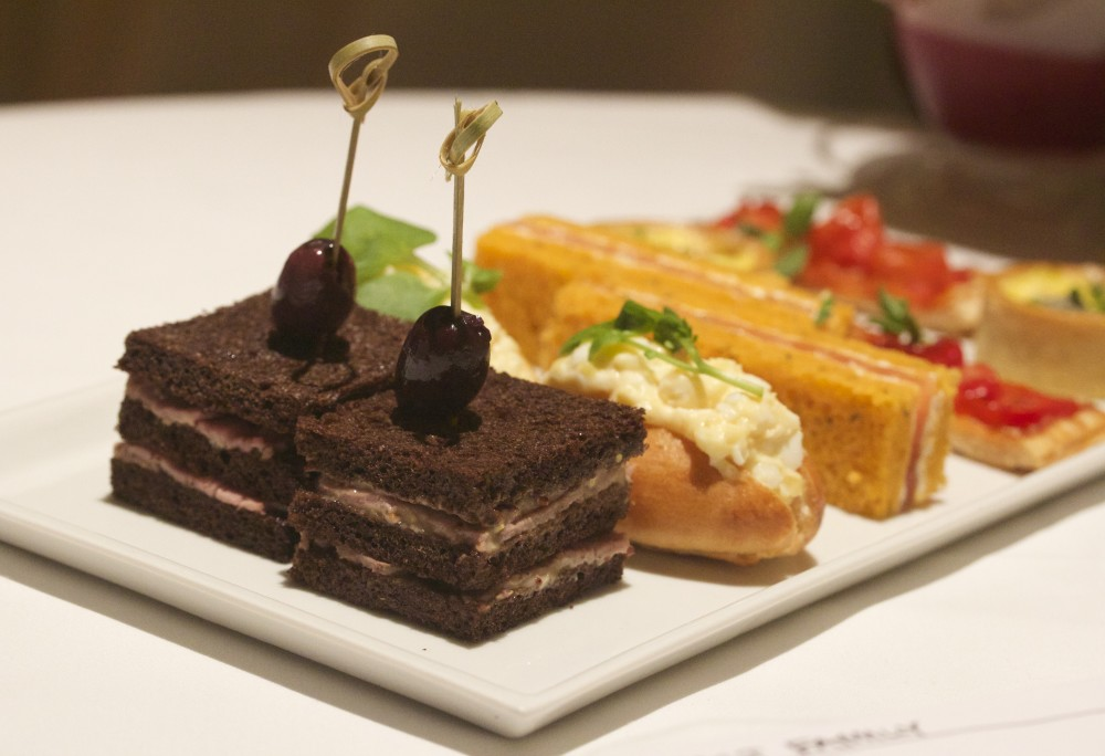 One Aldwych Hotel afternoon tea review sandwiches hotel high tea review fashion blog lifestyle