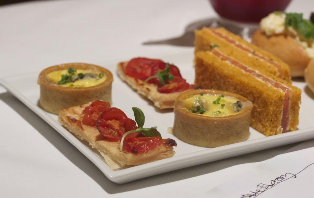 One Aldwych Hotel afternoon tea sandwiches