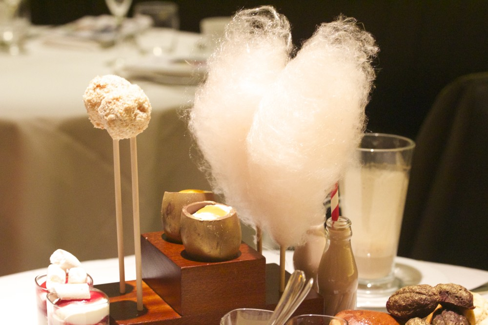 One Aldwych Hotel charlie and the chocolate factory tea candy floss
