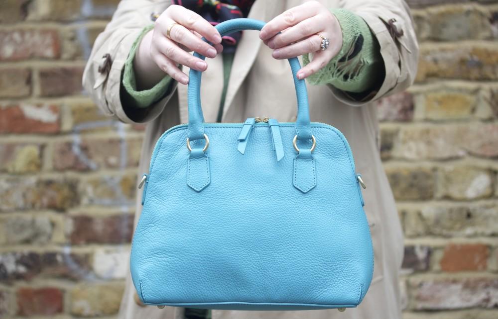 blue boden westminster handbag bag