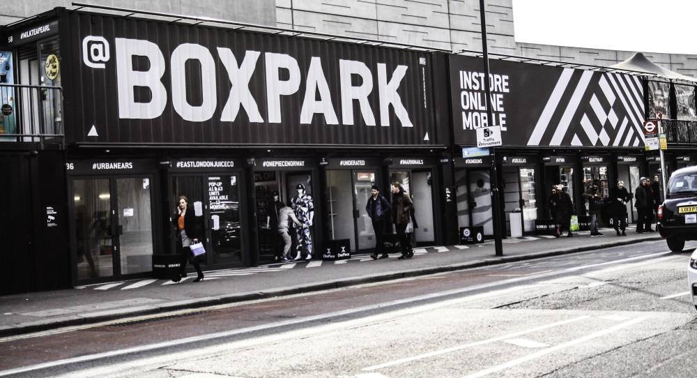 BoxPark east london