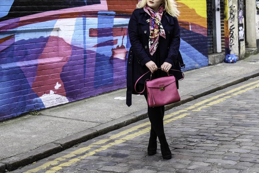 La Redoute shoot  mcm worldwide handbag