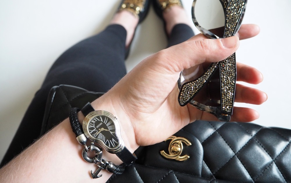anchor & crew bracelet jewellery moschino time for art melting clock watch  fwis from where I stand photo fashion blog blogger