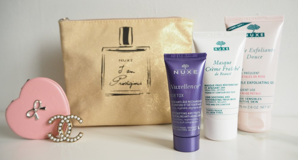 nuxe beauty gift set