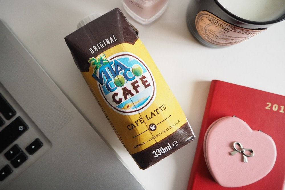 vita coco cafe latte drink coffee