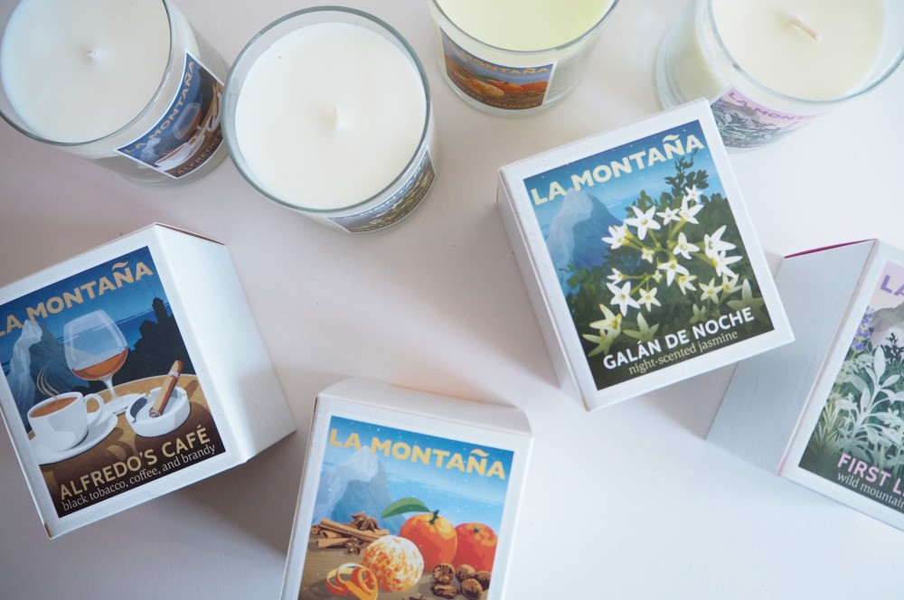 Home: La Montaña Scented Candles