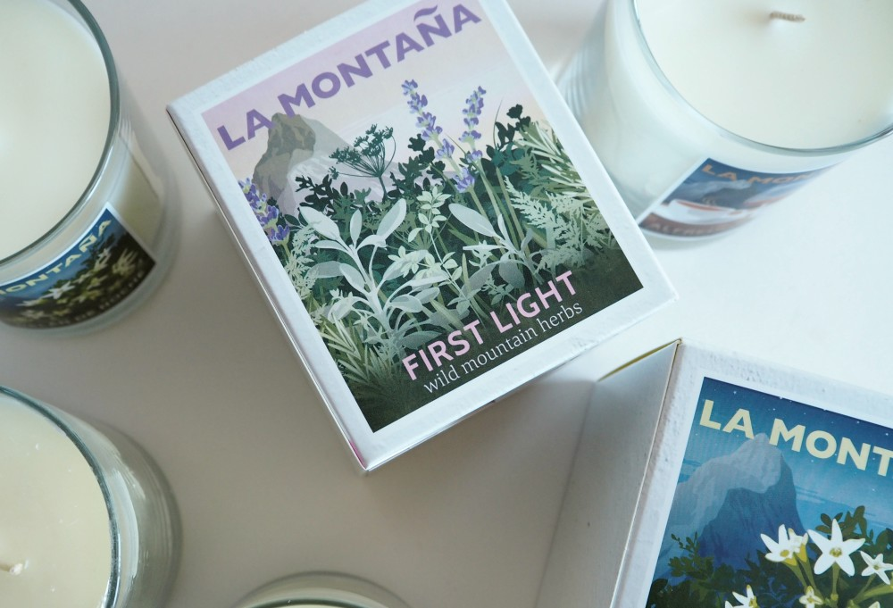 La montana luxury scented candle