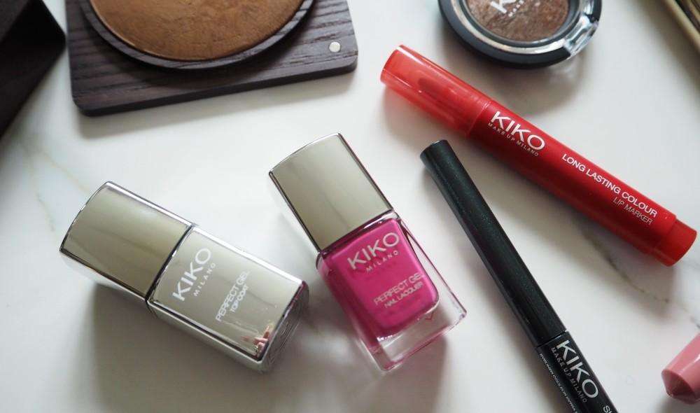 kiko milano make up cosmetics review beauty blogger british