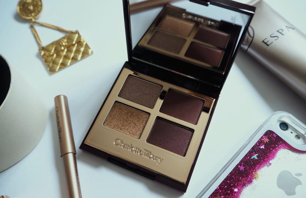 charlotte tilbury makeup vintage camp eyeshadow