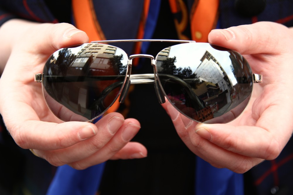maui jim sunglasses sporty aviator style