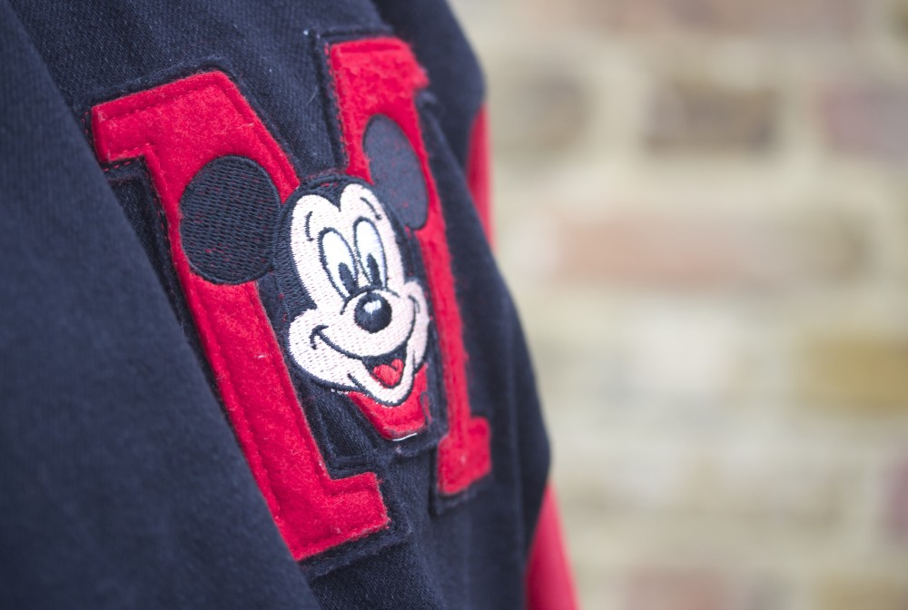 vintage mickey mouse letterman jacket disney