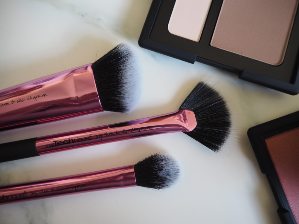 real techniques brushes make-up review