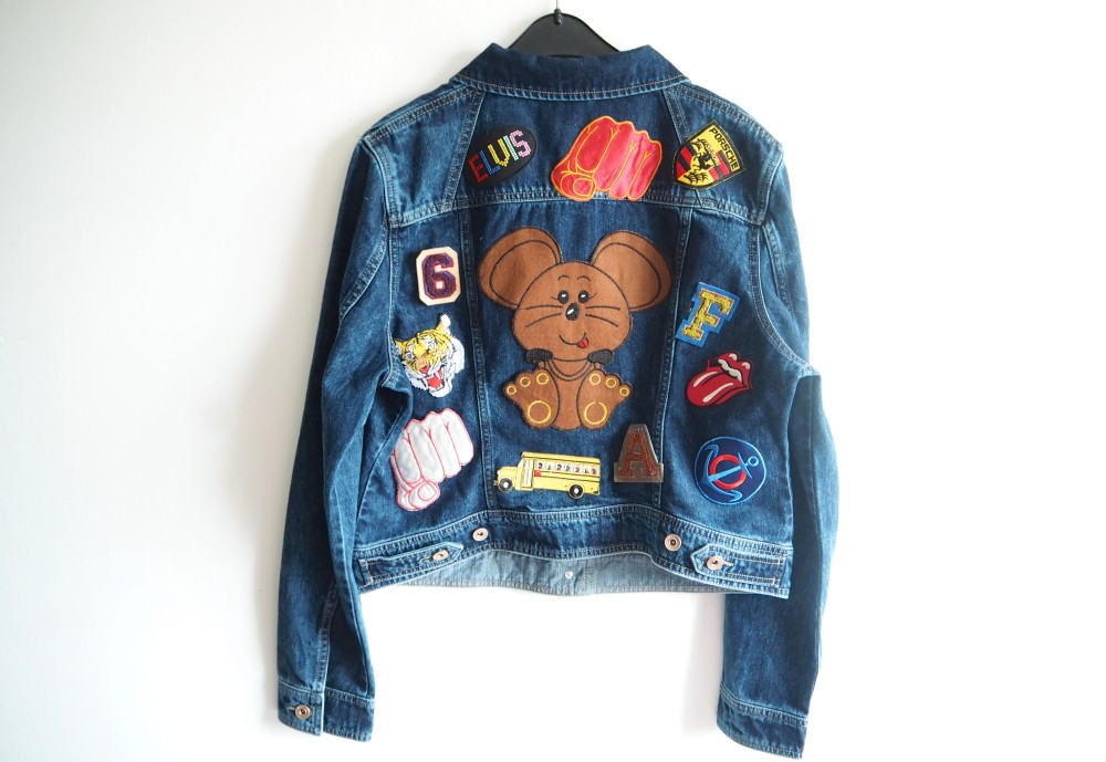 next denim jacket perfect for craft project next denim jacket perfect for craft project