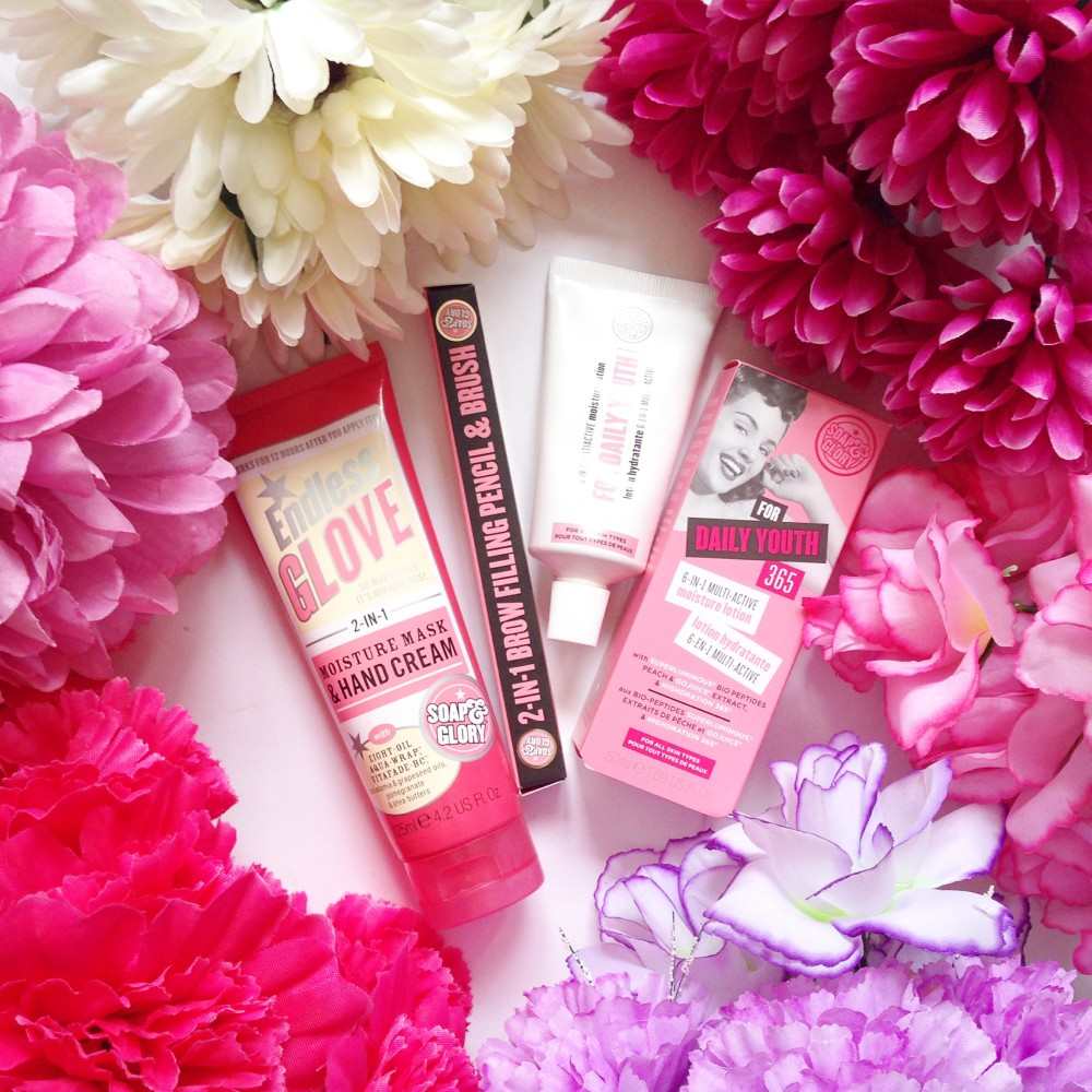 soap and glory endless glove 4 in 1 hand cream