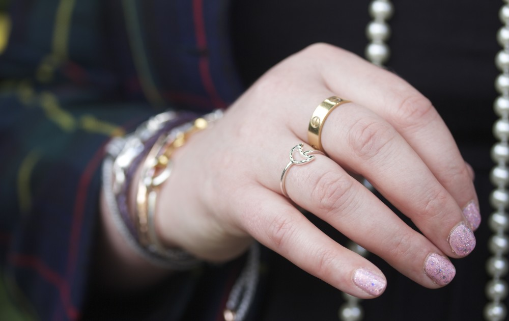 cartier love ring gold colour fashion blogger