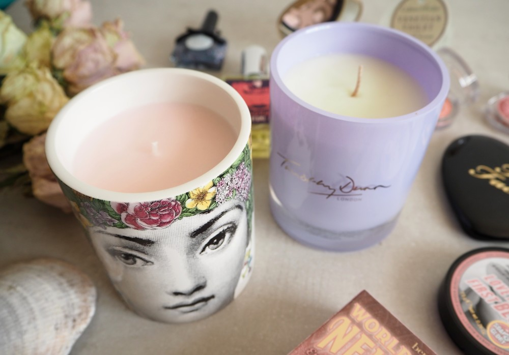 fornasetti candle floral