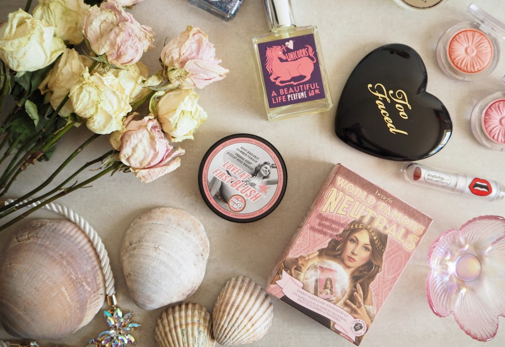 soap and glory peach pink blush blusher