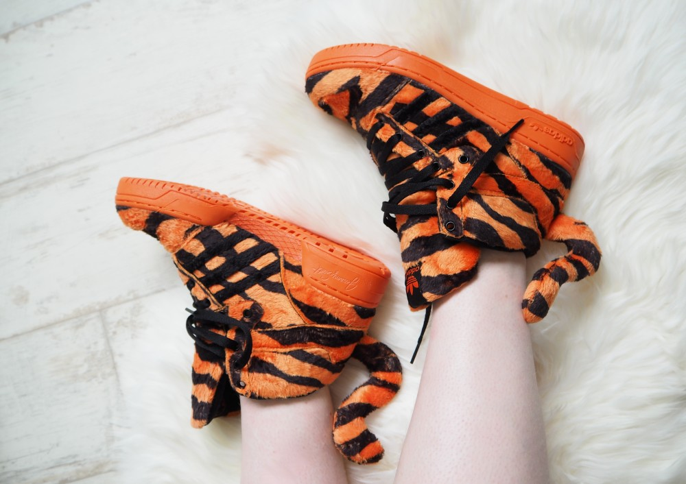jeremy scott for adidas trainers tiger
