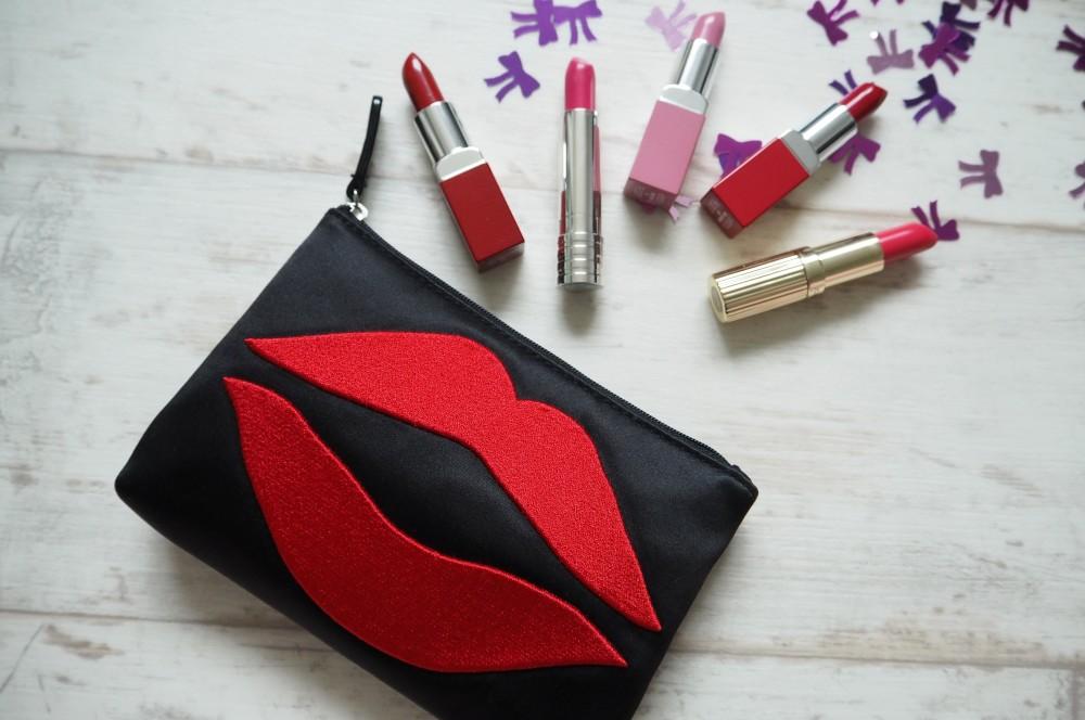lulu guinness lip blot make up bag