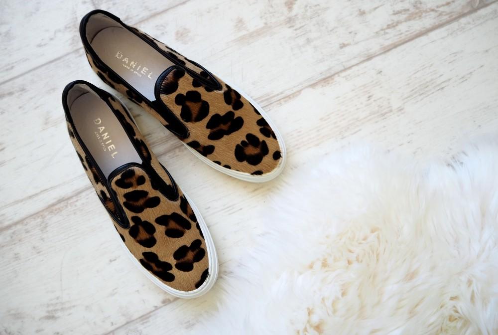 daniel footwear ponyskin shoes pumps leopard print