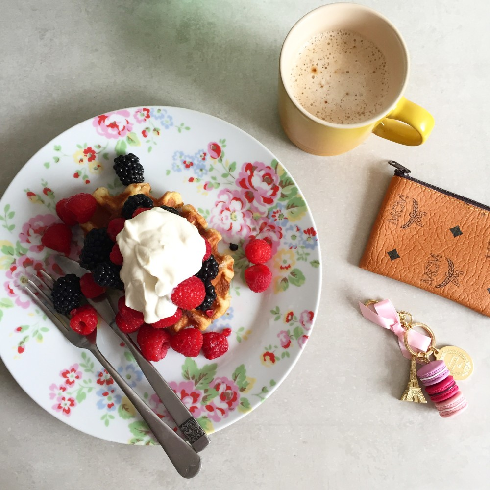 breakfast waffles fashion for lunch blog labelsforlunch instagram
