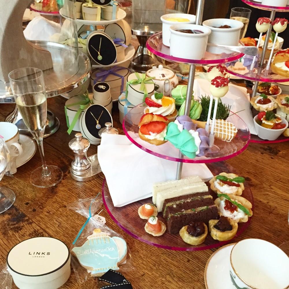 links of london event bloggers tea ham yard hotel