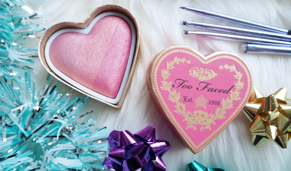 too faced heart shaped blush first blush cosmetics