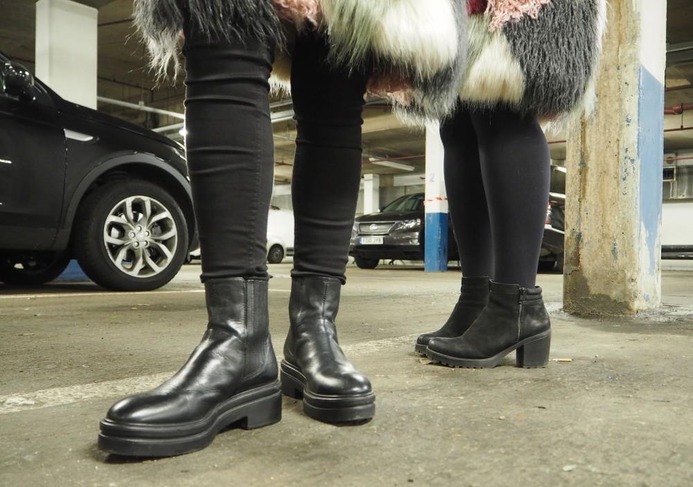 vagabond boots twinning sister bloggers