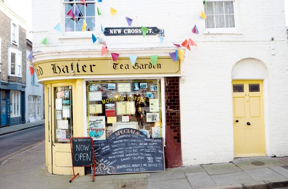 mad hatters tea shop margate