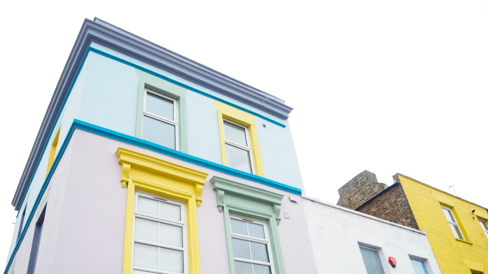 margate cliftonville pastel coloured house home seaside