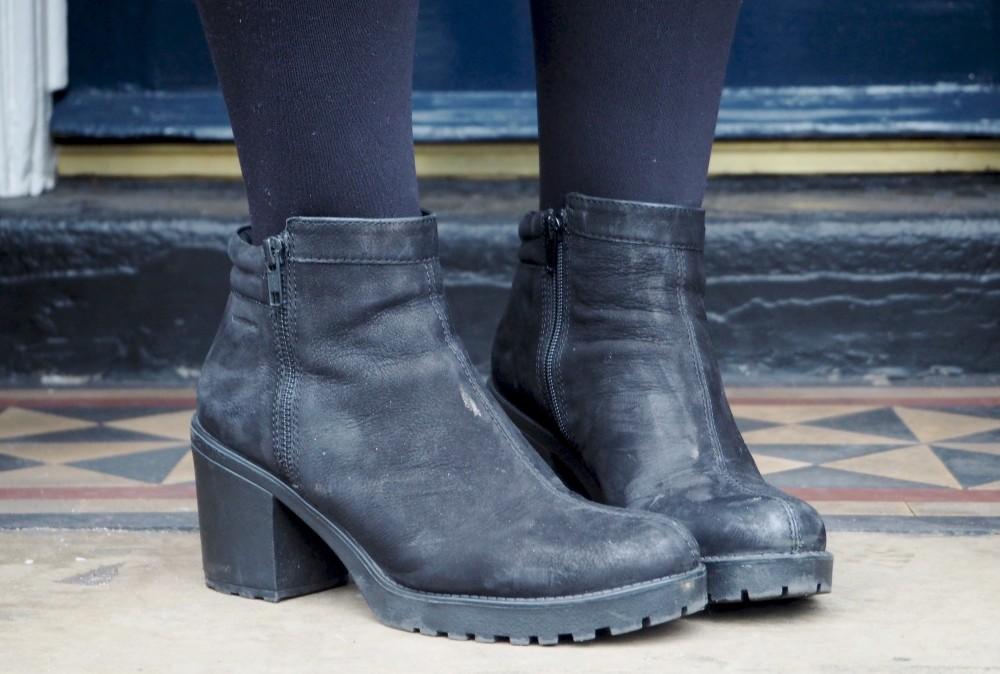 vagabond boots heels ankle boots nubuck