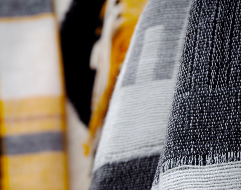 next-tartan-wool-scarf-yellow-grey-blanket