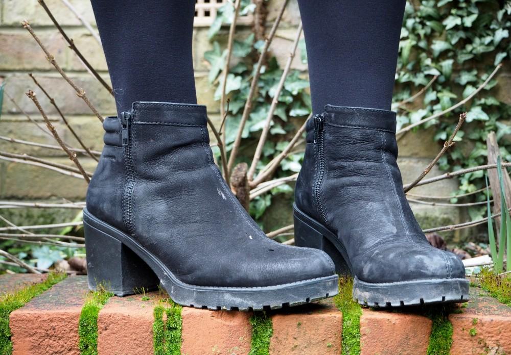 vagabond boots black nubuck shoes boots