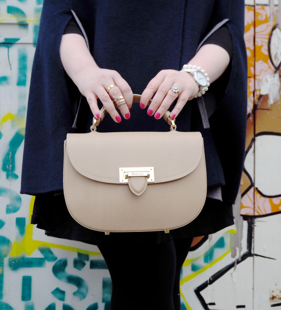 aspinal of london handbag deer saddle bag