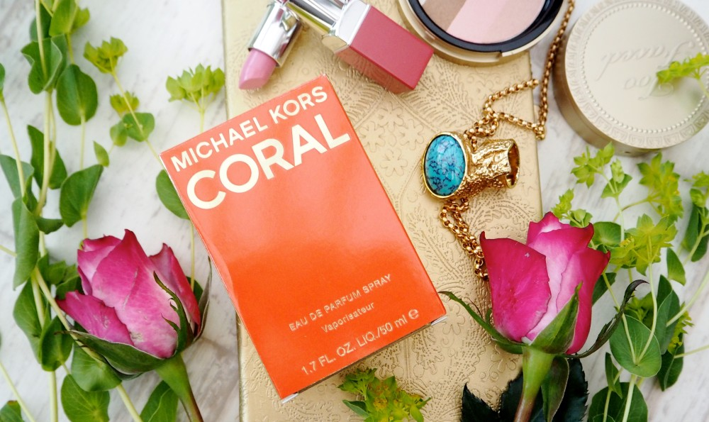 Michael Kors Coral perfume fragrance limited edition review