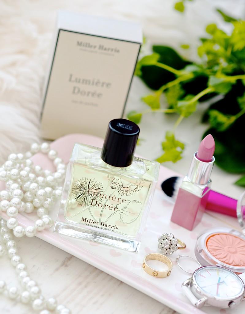 Miller Harris Lumière Dorée perfume fragrance review