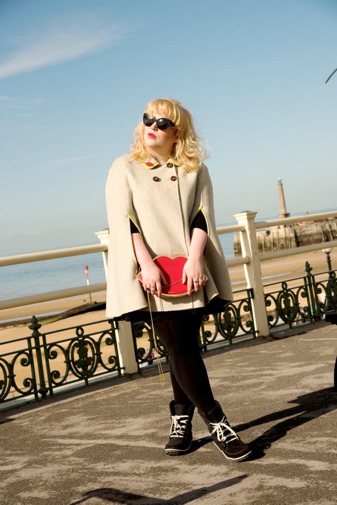 boden charlotte cape beige margate kent fbloggers fashion blogger