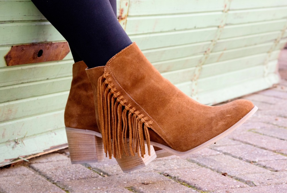 next boots fringing brown suede cowgirl boho festival