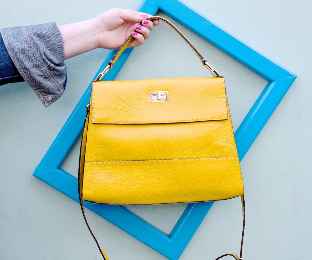 boden amanda bag handbag yellow kelly style