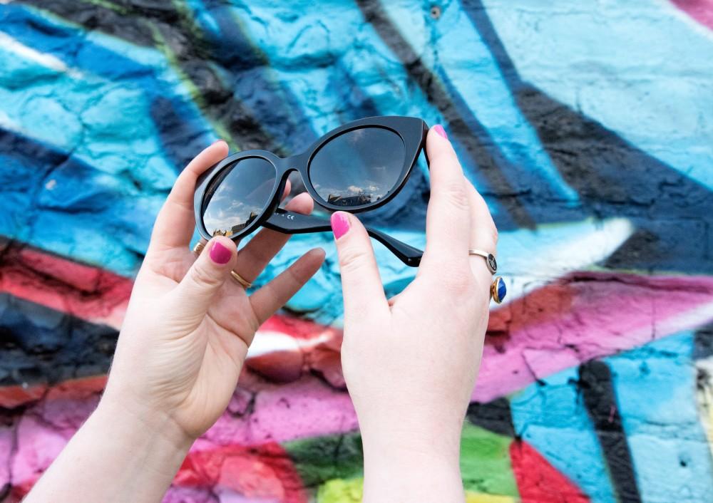 sunglasses hut miu miu sunglasses black crystals