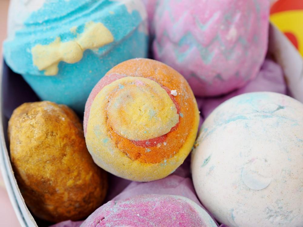 Lush cosmetics easter 'Good Egg' Gift Set