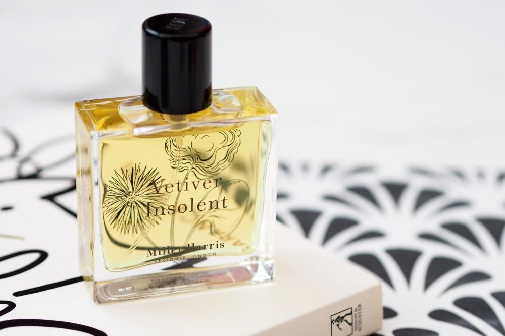 Miller Harris Vetiver Insolent perfume fragrance review
